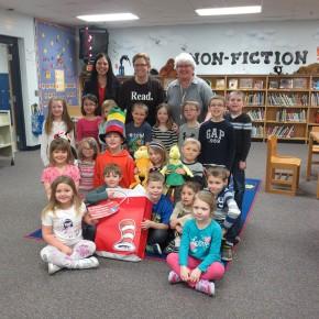 Albertville Primary, Read Across America 2016