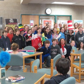 St. Michael Middle School East, Read Across America 2016
